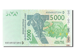 Afrique De L'Ouest, 5000 Francs, Type 2003 - Banconote