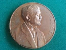 Jean Jadot, Gouverneur De La Societe Generale De Belgique, 1906-1932 (G. Devreese), 146 Gram (medailles0957) - Professionals / Firms