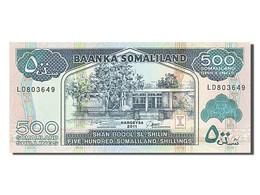 [#255211] Somaliland, 500 Shillings, Type 1994 - Somalia