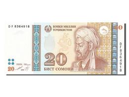 [#255237] Tadjikistan, 20 Somoni, Type Abuali Ibn Sino - Tadzjikistan