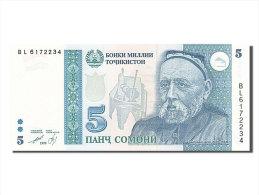 [#255235] Tadjikistan, 5 Somoni, Type A. Rudaki - Tadjikistan