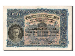 [#303566] Suisse, 100 Francs Type 1921-28 - Switzerland