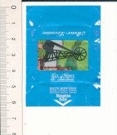 Emballage Morceau De Sucre Beghin Say / Les Mines De Charbon / Mine Puits / Alsace-Lorraine / IM 138 - Sucres
