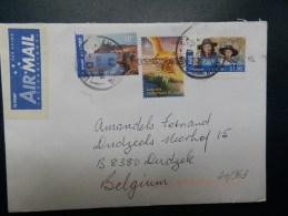41/963  LETTER TO BELG. - 1980-89 Elizabeth II