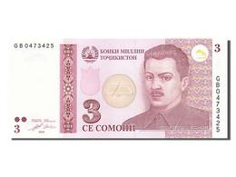 [#255234] Tadjikistan, 3 Somoni, Type S. Shotemur - Tadjikistan
