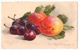 (Illustrateurs) 020, Klein, Jounor 236, Fruits, Pêches Et Raisins - Klein, Catharina
