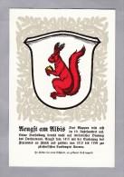 ZH AEUGST A. ALBIS  Zürcher Gemeindewappen Ungebraucht - ZH Zurich