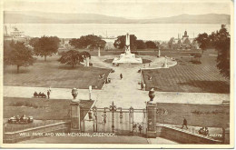 RENFREW - WELL PARK AND WAR MEMORIAL, GREENOCK  Ren5 - Renfrewshire