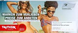 BRD Düsseldorf Postwurfspezial FRW TK Maxx GmbH Mode Bikini - Textil