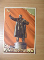Russia Moscow  Lenin   -  Sent To  Szalva János  Hungarian Military Officer  1956 Revolution -  D117218 - Russie