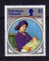 Solomon Islands - 1986 - Cyclone Relief Fund - MNH - Salomon (Iles 1978-...)