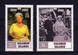 Solomon Islands - 1990 - Elizabeth Queen Mother 90th Birthday - MNH - Salomon (Iles 1978-...)