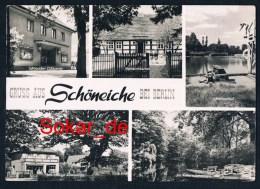 AK Schöneiche Bei Berlin 1965, Lichtspielhaus, Heimatmuseum, Spreewald, Königseiche, Brandenburg - Schoeneiche