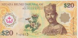 Brunei 20 Dollars 2007 Pick 34 UNC - Brunei