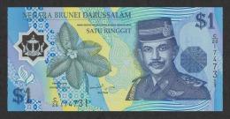 Brunei 1 Dollars 1998 Pick 22 UNC - Brunei