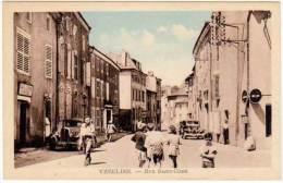 Vézelise - Rue Saint-Côme (automobile, Citroën  Traction) - Vezelise