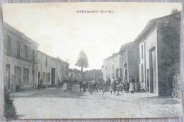 Sexey Les Bois Meurthe Et Moselle Rue Village  Très  Animé Habitants Personnages  Ecrite +- 1910 - Autres Communes