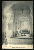 Seine Inférieure 76 Eglise D'Osmoy Vue Intérieure Coupel Houssays - Altri Comuni