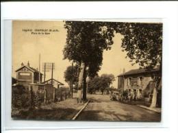 CP - CHAMBLEY (54) PLACE DE LA GARE - Chambley Bussieres