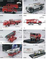 A04387 China Phone Cards Fire Engine Puzzle 76pcs - Firemen