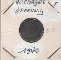 Allemagne  5 Pf 1940 F - [ 4] 1933-1945 : Third Reich