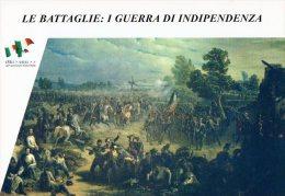 [DC1403] CARTOLINEA - SERIE LE BATTAGLIE: I° GUERRA DI INDIPENDENZA - BATTAGLIA DI GOITO (3) - Storia