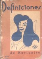 DEFINICIONES DE MARIANITO - MARIANO JULIA (1914-1991) RARISIME GUIONISTA DE HISTORIETAS LA MAS FAMOSA FUE LOCURAS DE ISI - Verzameling