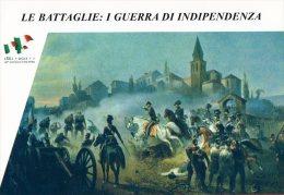 [DC1404] CARTOLINEA - SERIE LE BATTAGLIE: I° GUERRA DI INDIPENDENZA - SCONTRO DI SOMMACAMPAGNA (4) - Storia