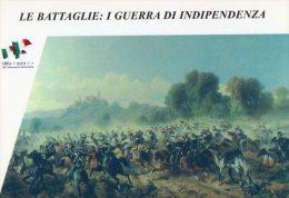 [DC1405] CARTOLINEA - SERIE LE BATTAGLIE: I° GUERRA DI INDIPENDENZA - SCONTRO DI VOLTA MANTOVANA (5) - Storia