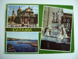 SALUTI  DA  CATANIA   VIAGGIATA COME DA FOTO - Catania