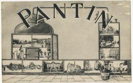 Pantin Multivues Alambic Distillerie Alcool Envoi A Reine Roblin Les Nodeaux Savigny Sancerre - Pantin