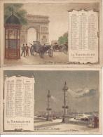 Vieux Calendrier TB Et Jolie - Calendars