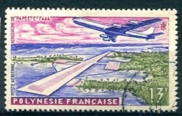 POLYNESIE PA (o) Y&T N°5 : Aéroport De Papeete - Poste Aérienne