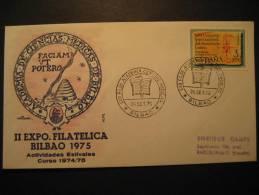 BILBAO Vizcaya 1975 Academia Ciencias Medicas Science Snake Abeille Bee Beehive Medicina Medicine Medecine Health Sante - Medizin