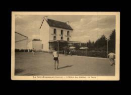 29 - LA FORÊT-FOUESNANT - Terrain De Tennis - Hôtel Des Sables - Tennis - La Forêt-Fouesnant