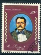 POLYNESIE  PA (o) Y&T N° 109 : Roi Pomaré V - Poste Aérienne