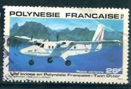 POLYNESIE  PA (o) Y&T N° 157 : Twin Otter - Poste Aérienne