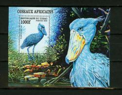 Tchad 1998.1V In Block,birds,vogels,vögel, Oiseaux,pajaros,uccelli,a Ves,,MNH/Postfirs , (E4208) - Oiseaux