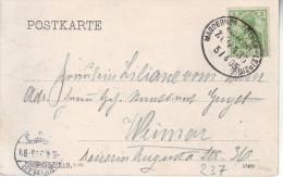 """BAHPOST : AMBULANT : ZK (HALLE)  PZ (Reich) """" MAGDEBURG - COTHEN - LEIPZIG / BAHNPOST / ZUG 435 / 5.4.05"""" - Non Classés"""
