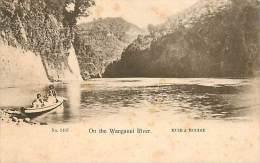 BO-14-168 : On The Wanganui River Muir & Moodie - Nouvelle-Zélande