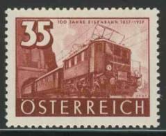 Oostenrijk Austria Österreich 1937 Mi 648 YT 505 * MH Electric Locomotive BR 1170.2 (1935) / Bo-Bo-Personenzuglokomoti V - Treinen