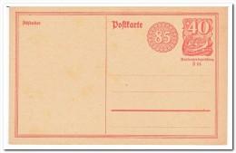 Deutsches Reich, Postcard Unused With Paper Additional Price - Postwaardestukken