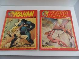 Bande Dessinée RAHAN N°15 Et N°16 - Rahan