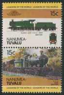 Tuvalu Nanumea1984 Mi 1-2 ** Locomotive Class 2251 0-6-0 (1948) Great Britain / Lokomotive - Treinen