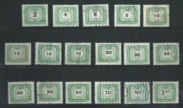 O - Hongarije - Afgestempeld - Takszegels - 1952 - Lot 826 - Port Dû (Taxe)