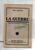 MILITARIA  GUERRE 1939-1945-  PAUL REYNAUD LA GUERRE DISCOURS CHAMBRE DEPUTES 28-12-1939 - Books, Magazines, Comics