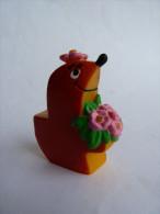 RARE Figurine tifin tifins tiffin avec des fleurs TF1 - 70's - BULLY