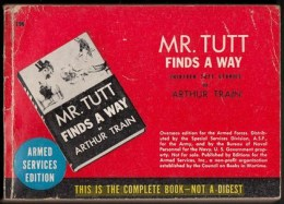 Mr TUTT Finds A Way -  Editions Du Service Des Armées U.S - 320 Pages - Forces Armées Américaines