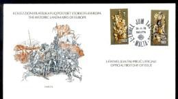 MALTA * FDC EUROPA CEPT 1978 * HISTORIC LANDMARKS - Europa-CEPT