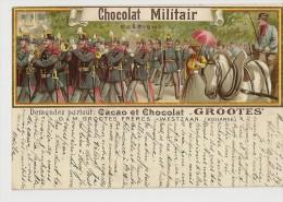 S523 - Chocolat Militair - D&M. Grootes Frères - Westzaan - Advertising